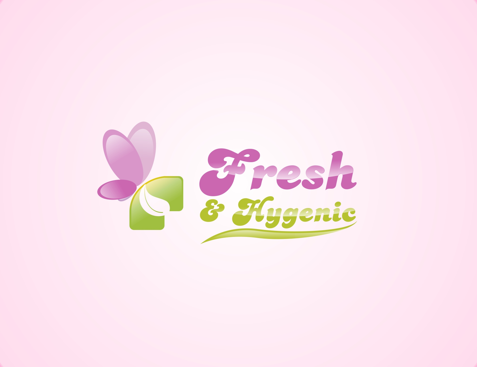 Logo Design by Reza Sasmita - Entry No. 115 in the Logo Design Contest Fun Logo Design for Fresh & Hygenic.