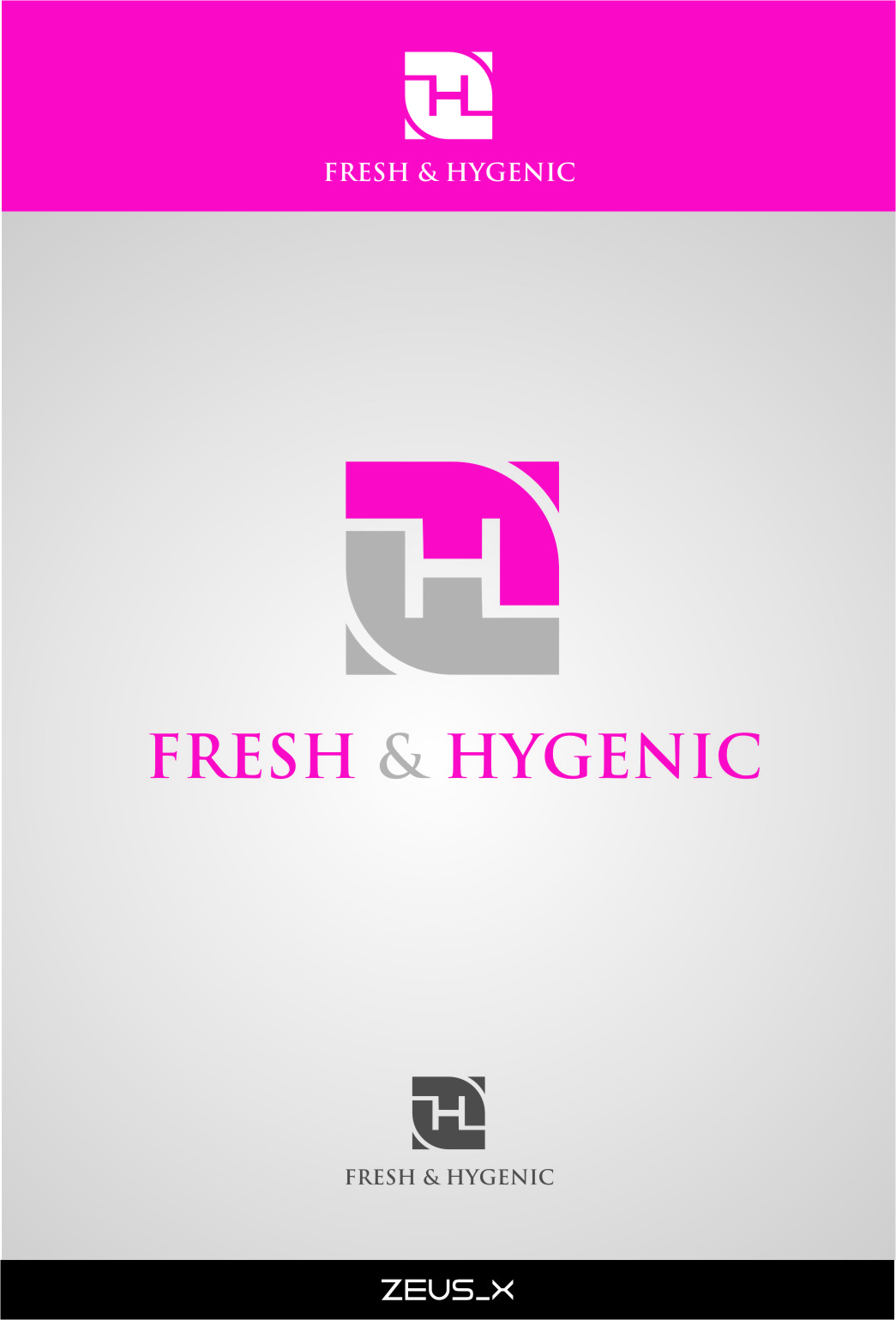 Logo Design by Ngepet_art - Entry No. 119 in the Logo Design Contest Fun Logo Design for Fresh & Hygenic.