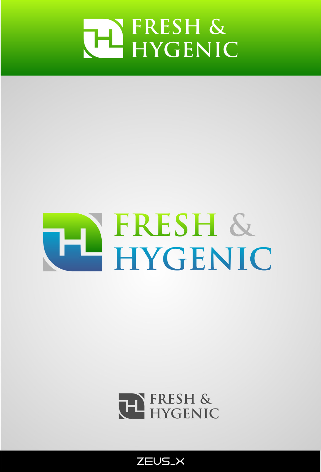 Logo Design by RoSyid Rono-Rene On Java - Entry No. 120 in the Logo Design Contest Fun Logo Design for Fresh & Hygenic.