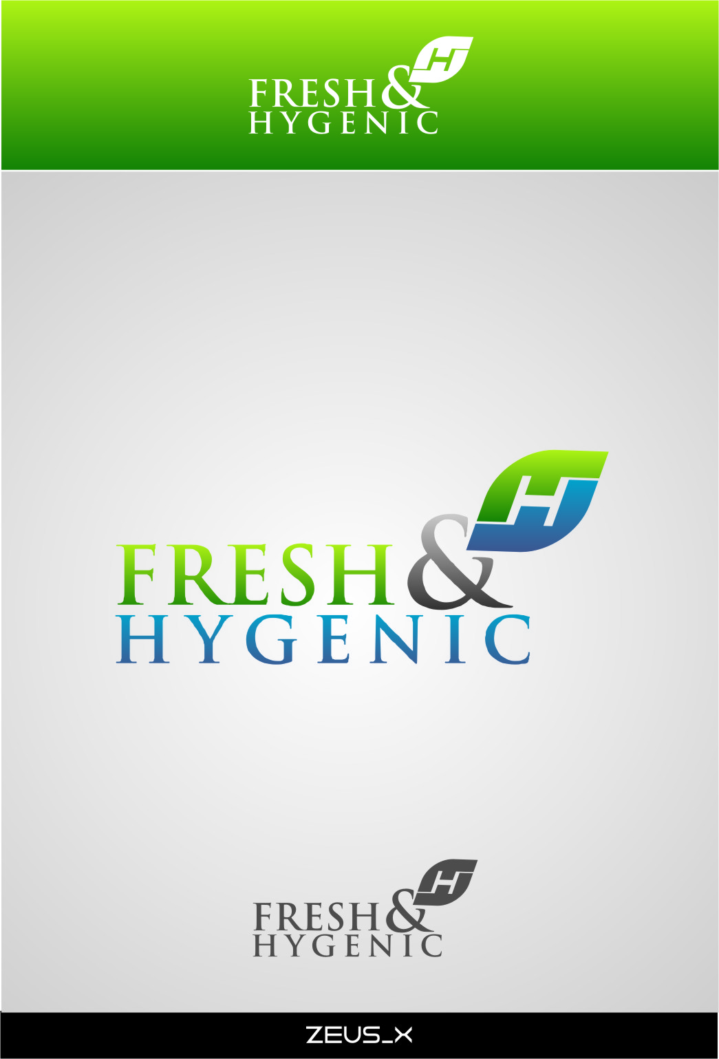 Logo Design by RasYa Muhammad Athaya - Entry No. 121 in the Logo Design Contest Fun Logo Design for Fresh & Hygenic.
