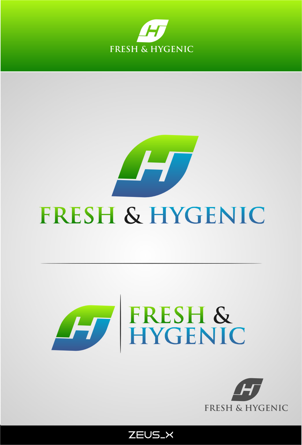 Logo Design by RasYa Muhammad Athaya - Entry No. 122 in the Logo Design Contest Fun Logo Design for Fresh & Hygenic.