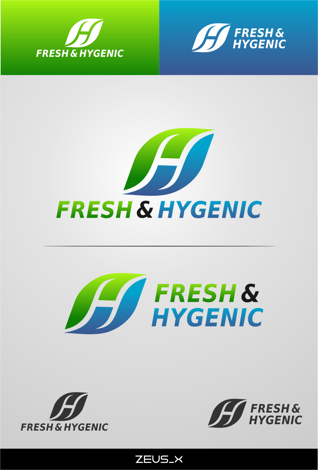 Logo Design by RasYa Muhammad Athaya - Entry No. 124 in the Logo Design Contest Fun Logo Design for Fresh & Hygenic.