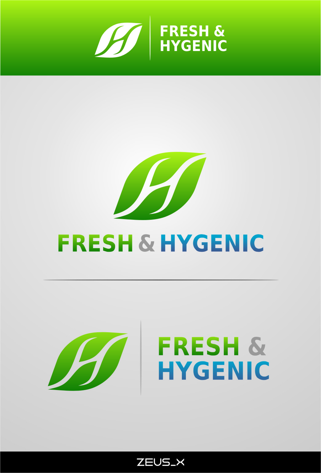 Logo Design by RasYa Muhammad Athaya - Entry No. 126 in the Logo Design Contest Fun Logo Design for Fresh & Hygenic.