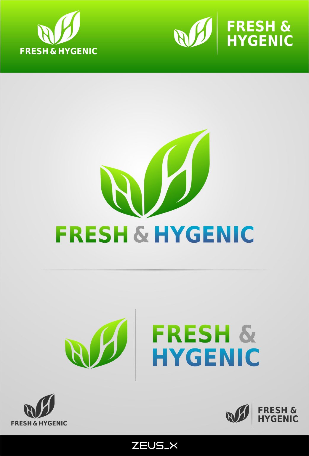Logo Design by Ngepet_art - Entry No. 127 in the Logo Design Contest Fun Logo Design for Fresh & Hygenic.