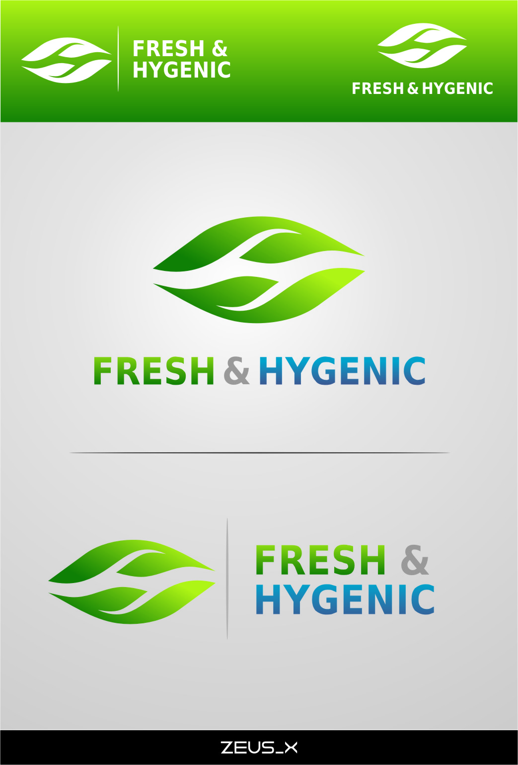 Logo Design by Ngepet_art - Entry No. 128 in the Logo Design Contest Fun Logo Design for Fresh & Hygenic.
