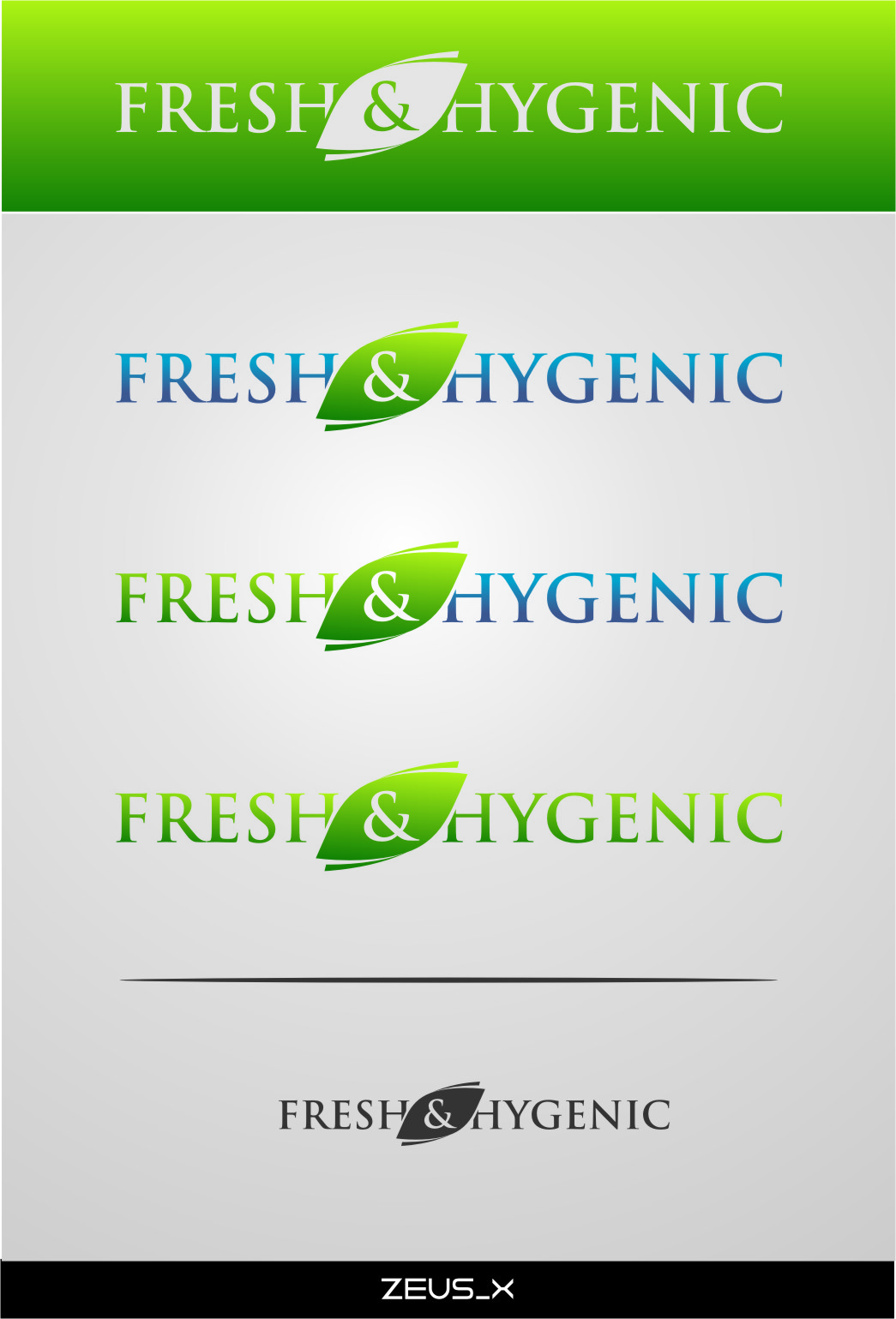 Logo Design by RasYa Muhammad Athaya - Entry No. 129 in the Logo Design Contest Fun Logo Design for Fresh & Hygenic.