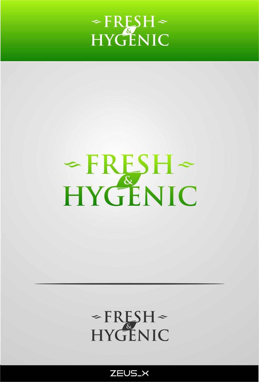 Logo Design by RasYa Muhammad Athaya - Entry No. 130 in the Logo Design Contest Fun Logo Design for Fresh & Hygenic.