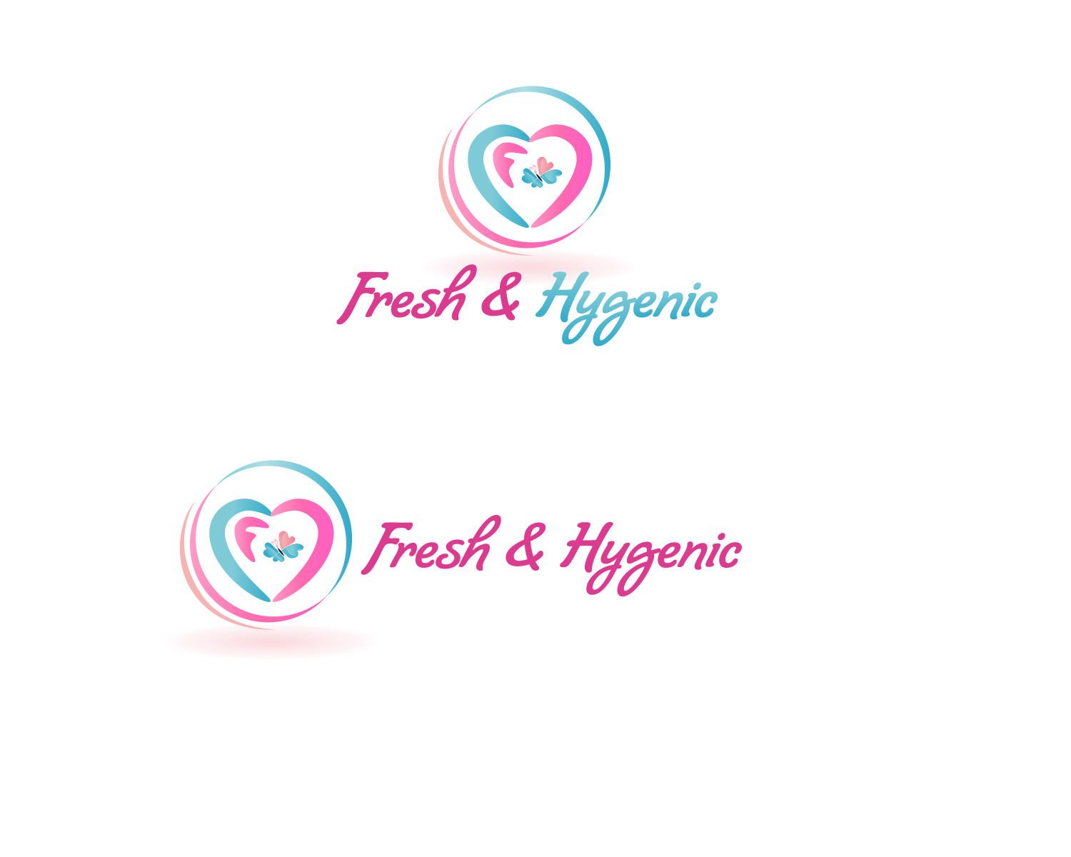 Logo Design by Jagdeep Singh - Entry No. 132 in the Logo Design Contest Fun Logo Design for Fresh & Hygenic.