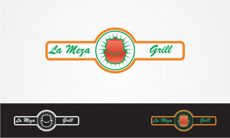 Logo Design by buloy - Entry No. 1 in the Logo Design Contest Inspiring Logo Design for La Meza Grill Ltd..