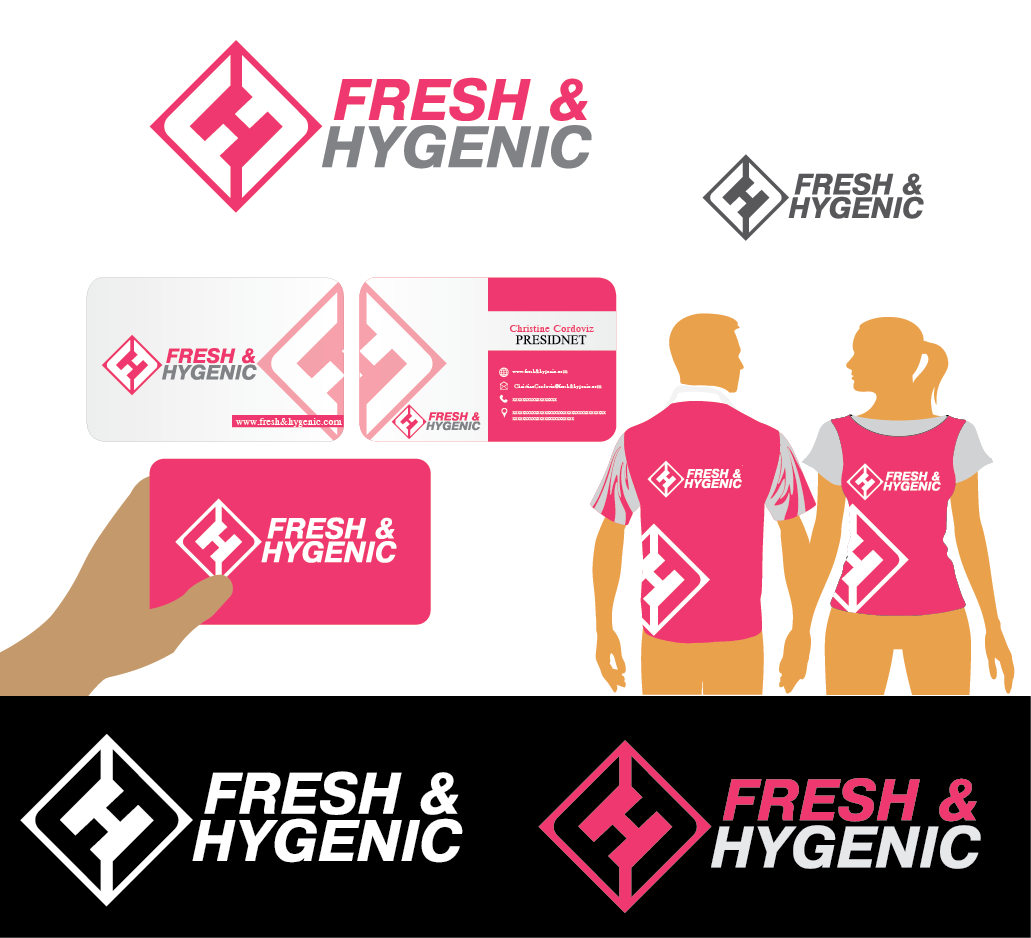 Logo Design by Private User - Entry No. 134 in the Logo Design Contest Fun Logo Design for Fresh & Hygenic.