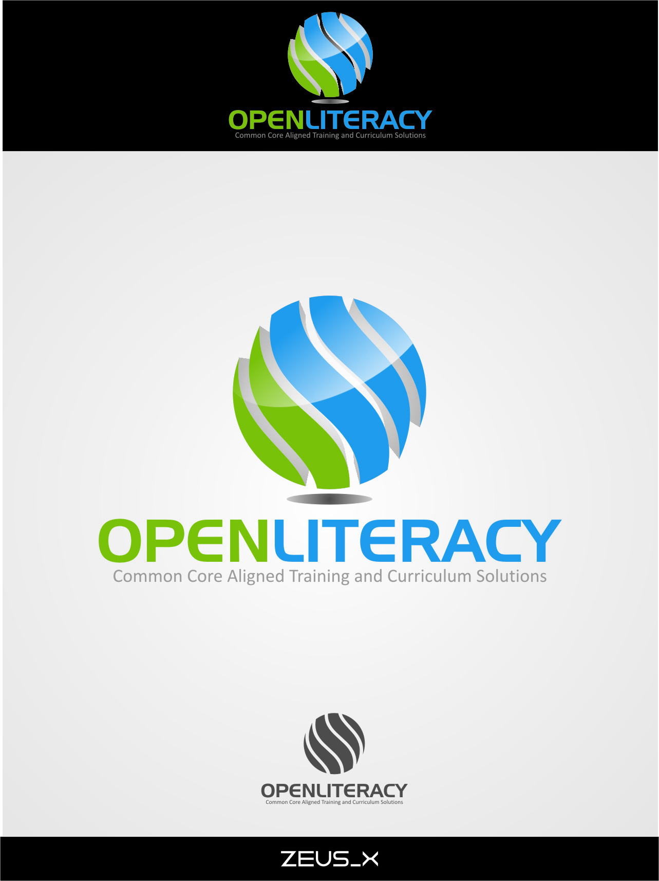 Logo Design by Ngepet_art - Entry No. 54 in the Logo Design Contest Inspiring Logo Design for OpenLiteracy.