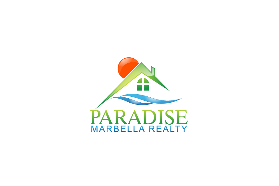 Logo Design by Private User - Entry No. 19 in the Logo Design Contest Captivating Logo Design for Paradise Marbella Realty.