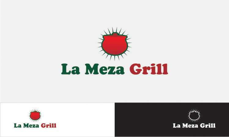 Logo Design by buloy - Entry No. 6 in the Logo Design Contest Inspiring Logo Design for La Meza Grill Ltd..