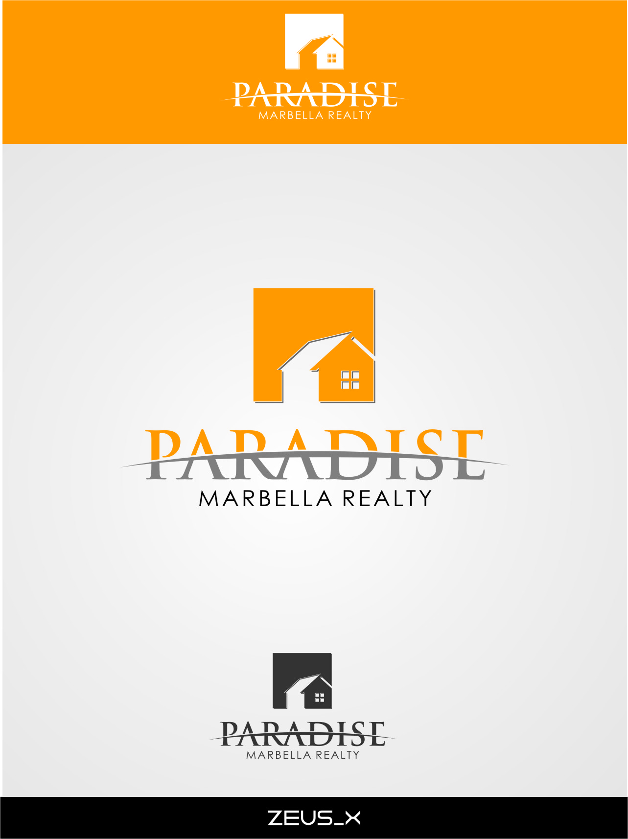 Logo Design by RasYa Muhammad Athaya - Entry No. 24 in the Logo Design Contest Captivating Logo Design for Paradise Marbella Realty.