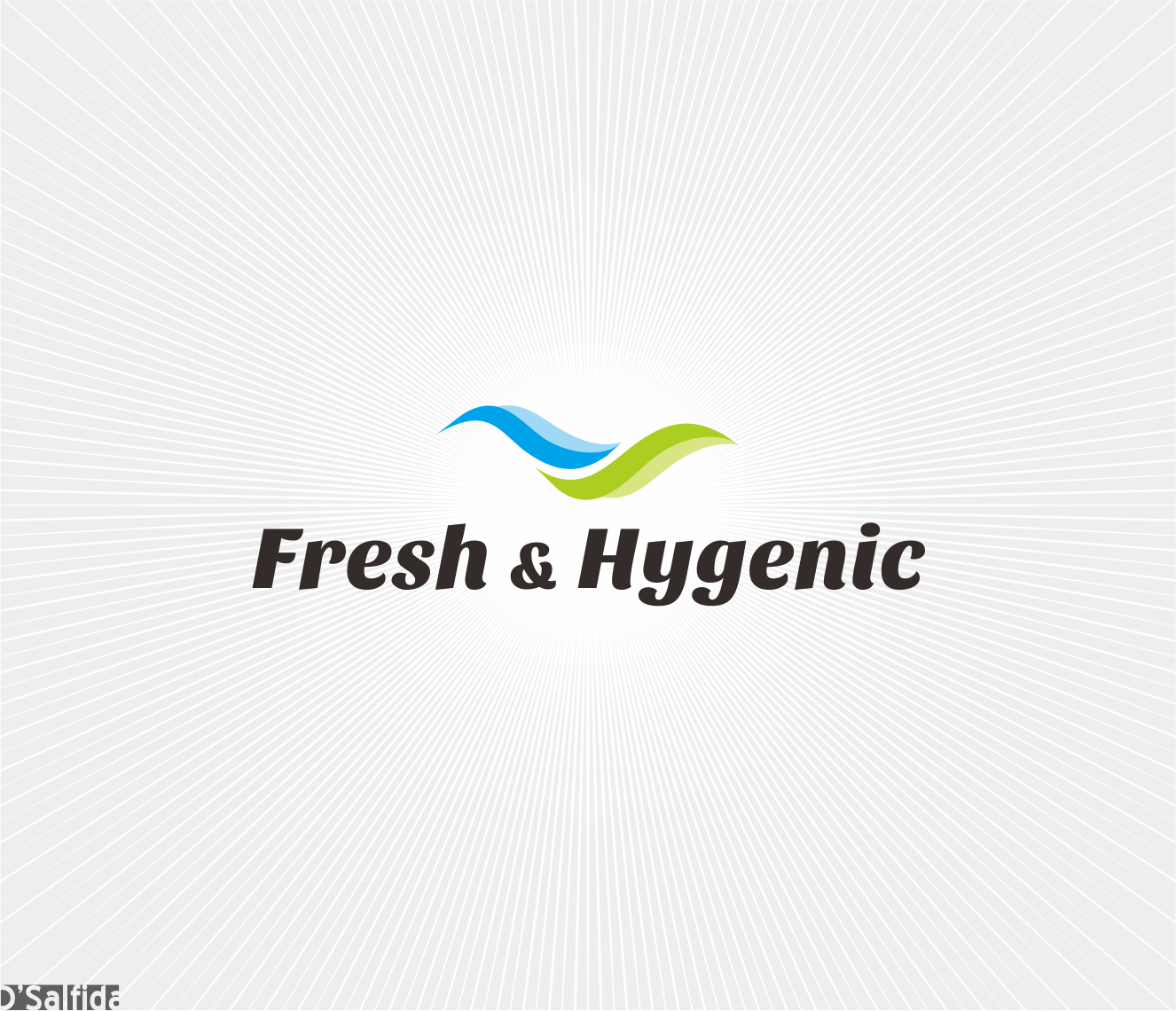 Logo Design by Armada Jamaluddin - Entry No. 136 in the Logo Design Contest Fun Logo Design for Fresh & Hygenic.
