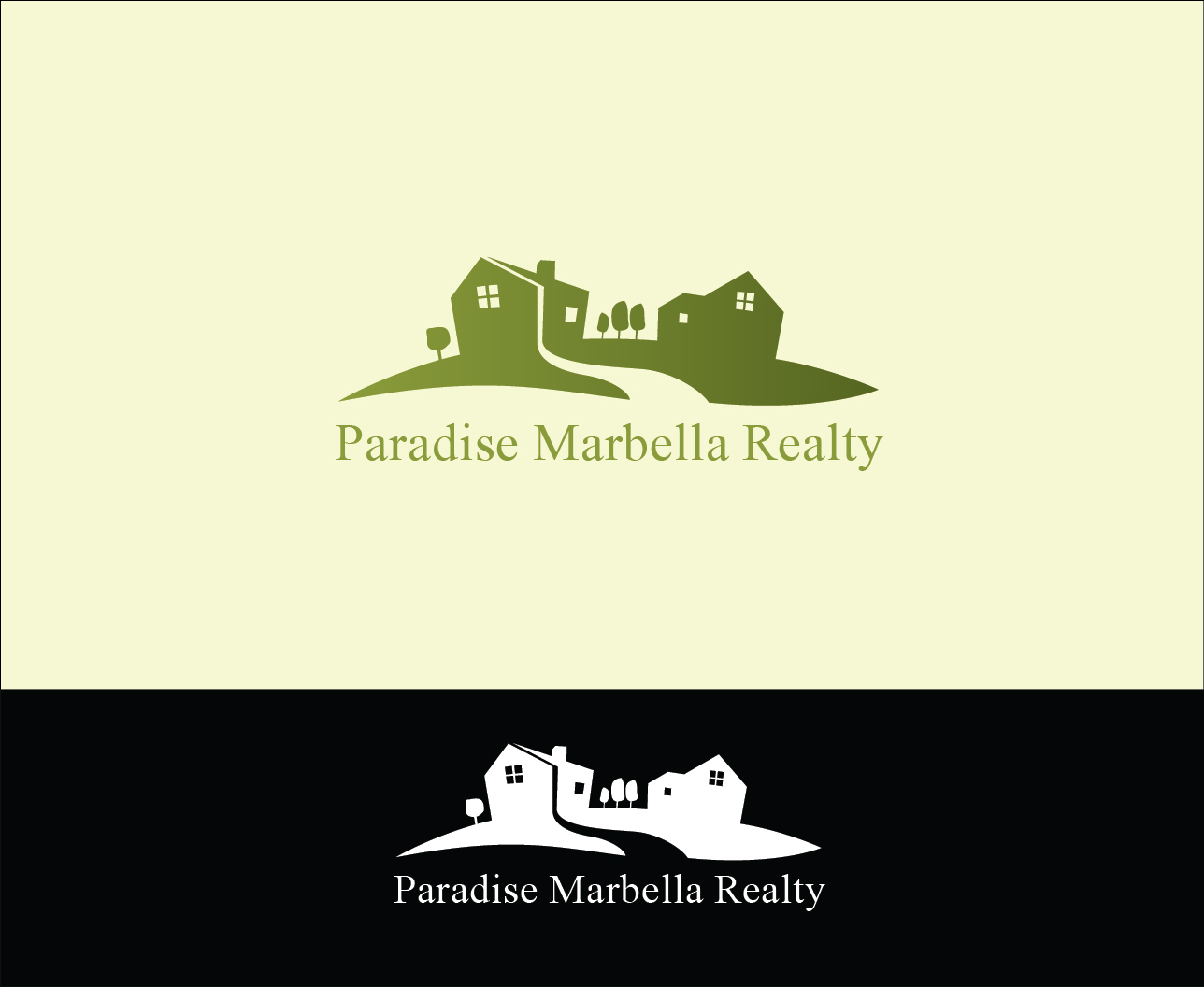 Logo Design by Derel Valarian - Entry No. 34 in the Logo Design Contest Captivating Logo Design for Paradise Marbella Realty.
