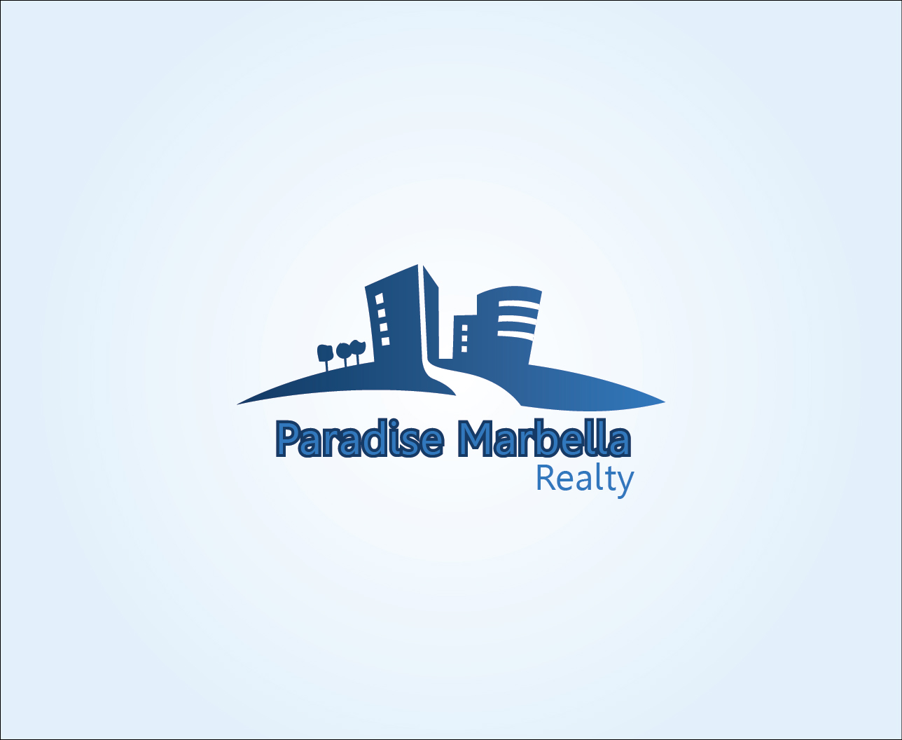 Logo Design by Derel Valarian - Entry No. 35 in the Logo Design Contest Captivating Logo Design for Paradise Marbella Realty.