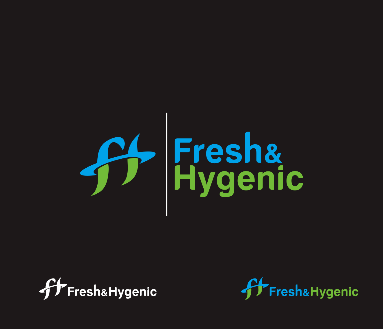 Logo Design by Armada Jamaluddin - Entry No. 137 in the Logo Design Contest Fun Logo Design for Fresh & Hygenic.