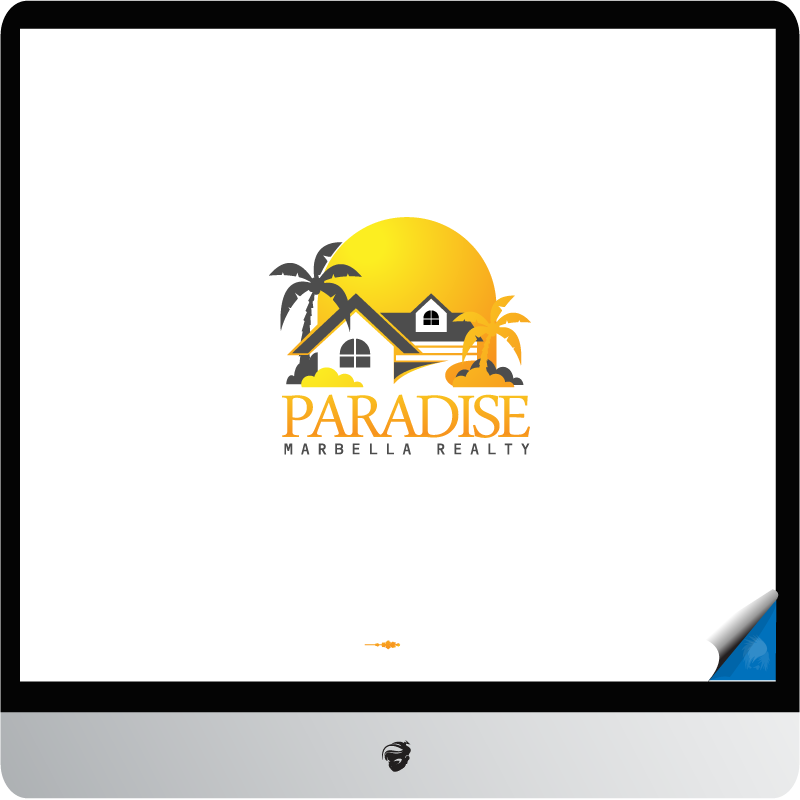 Logo Design by zesthar - Entry No. 37 in the Logo Design Contest Captivating Logo Design for Paradise Marbella Realty.