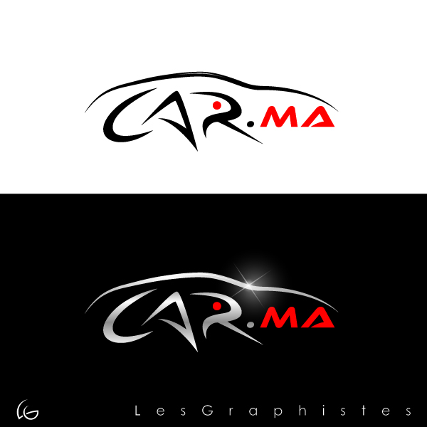 Logo Design by Les-Graphistes - Entry No. 59 in the Logo Design Contest New Logo Design for car.ma.