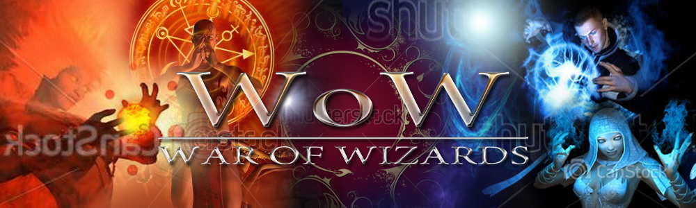 Banner Ad Design by kowreck - Entry No. 89 in the Banner Ad Design Contest Banner Ad Design - War of Wizards (fantasy game).