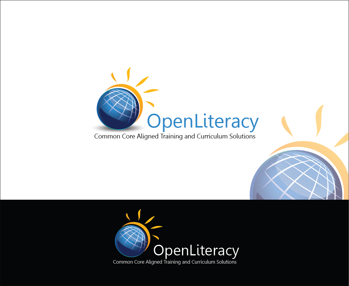 Logo Design by Derel Valarian - Entry No. 58 in the Logo Design Contest Inspiring Logo Design for OpenLiteracy.