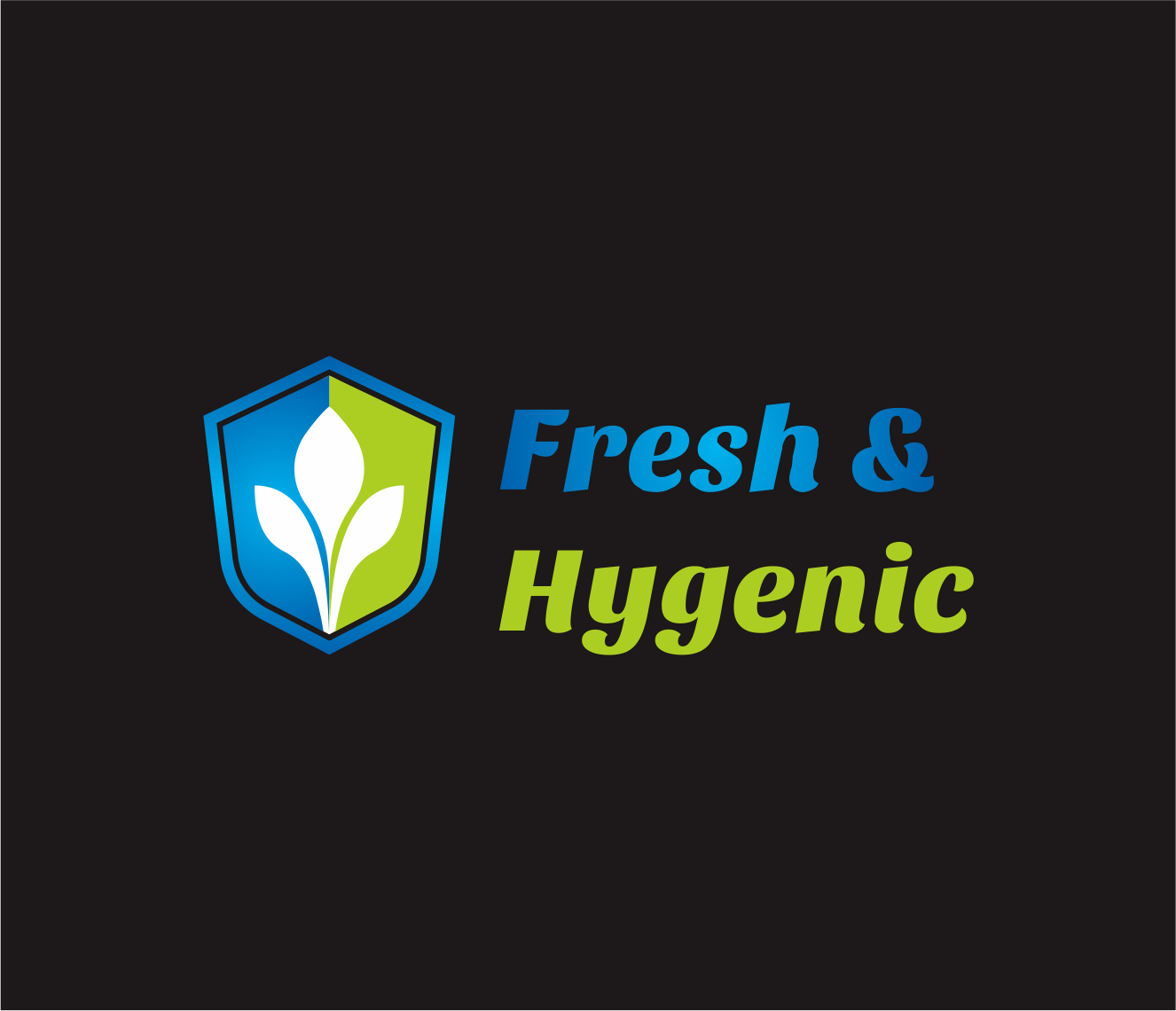 Logo Design by Armada Jamaluddin - Entry No. 138 in the Logo Design Contest Fun Logo Design for Fresh & Hygenic.