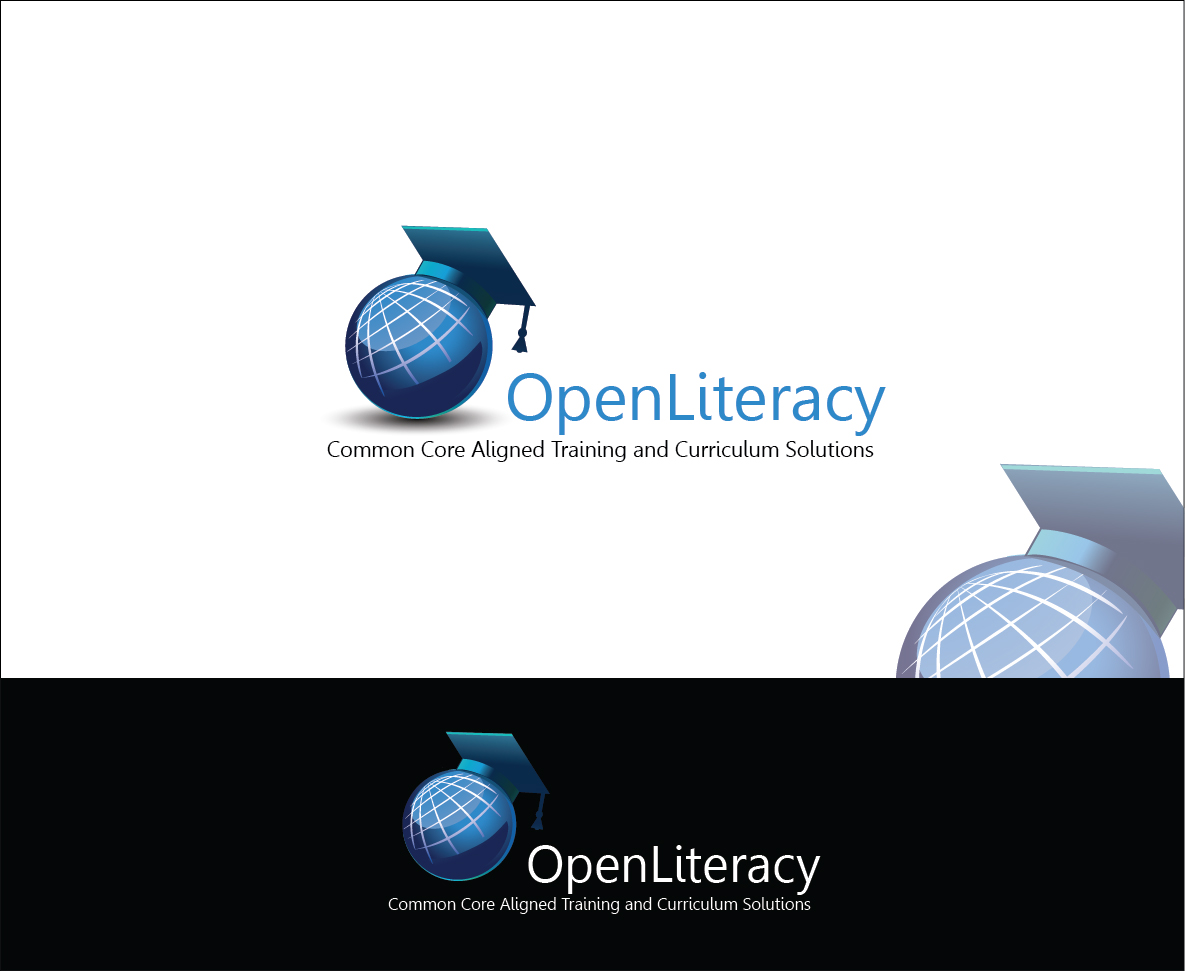Logo Design by Derel Valarian - Entry No. 59 in the Logo Design Contest Inspiring Logo Design for OpenLiteracy.