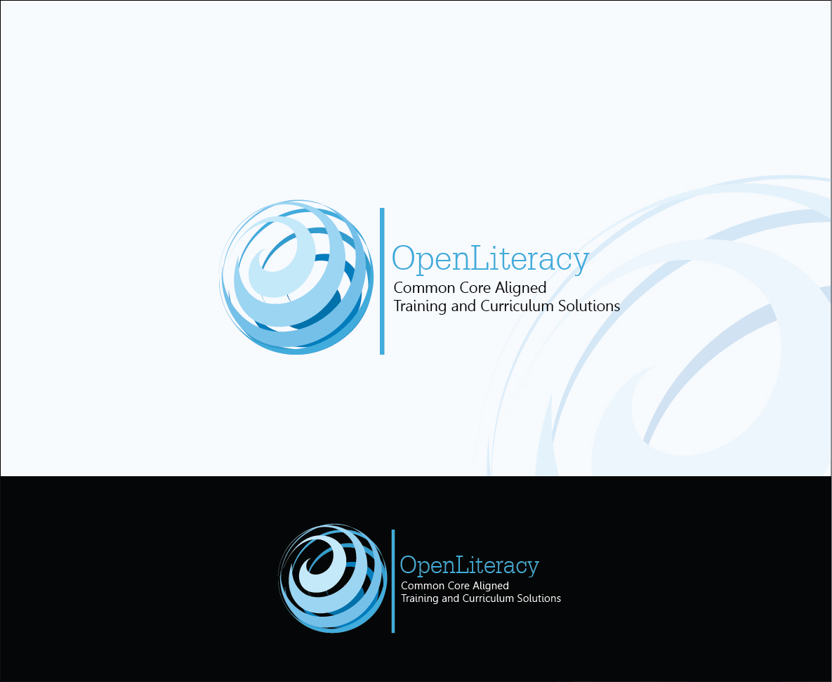 Logo Design by Derel Valarian - Entry No. 61 in the Logo Design Contest Inspiring Logo Design for OpenLiteracy.