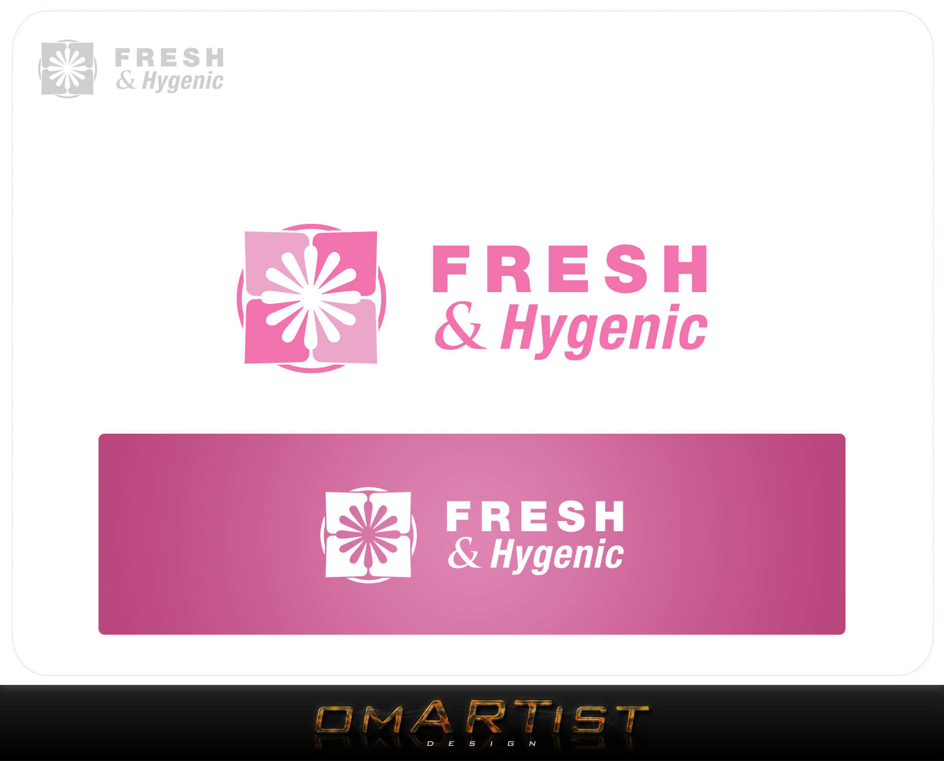 Logo Design by omARTist - Entry No. 141 in the Logo Design Contest Fun Logo Design for Fresh & Hygenic.