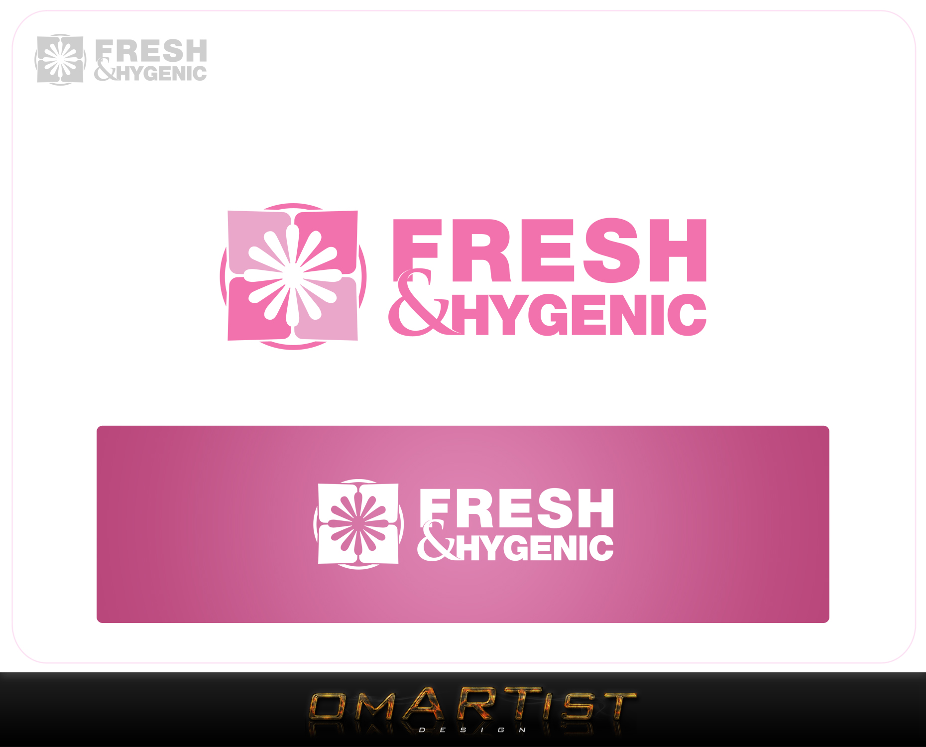 Logo Design by omARTist - Entry No. 142 in the Logo Design Contest Fun Logo Design for Fresh & Hygenic.