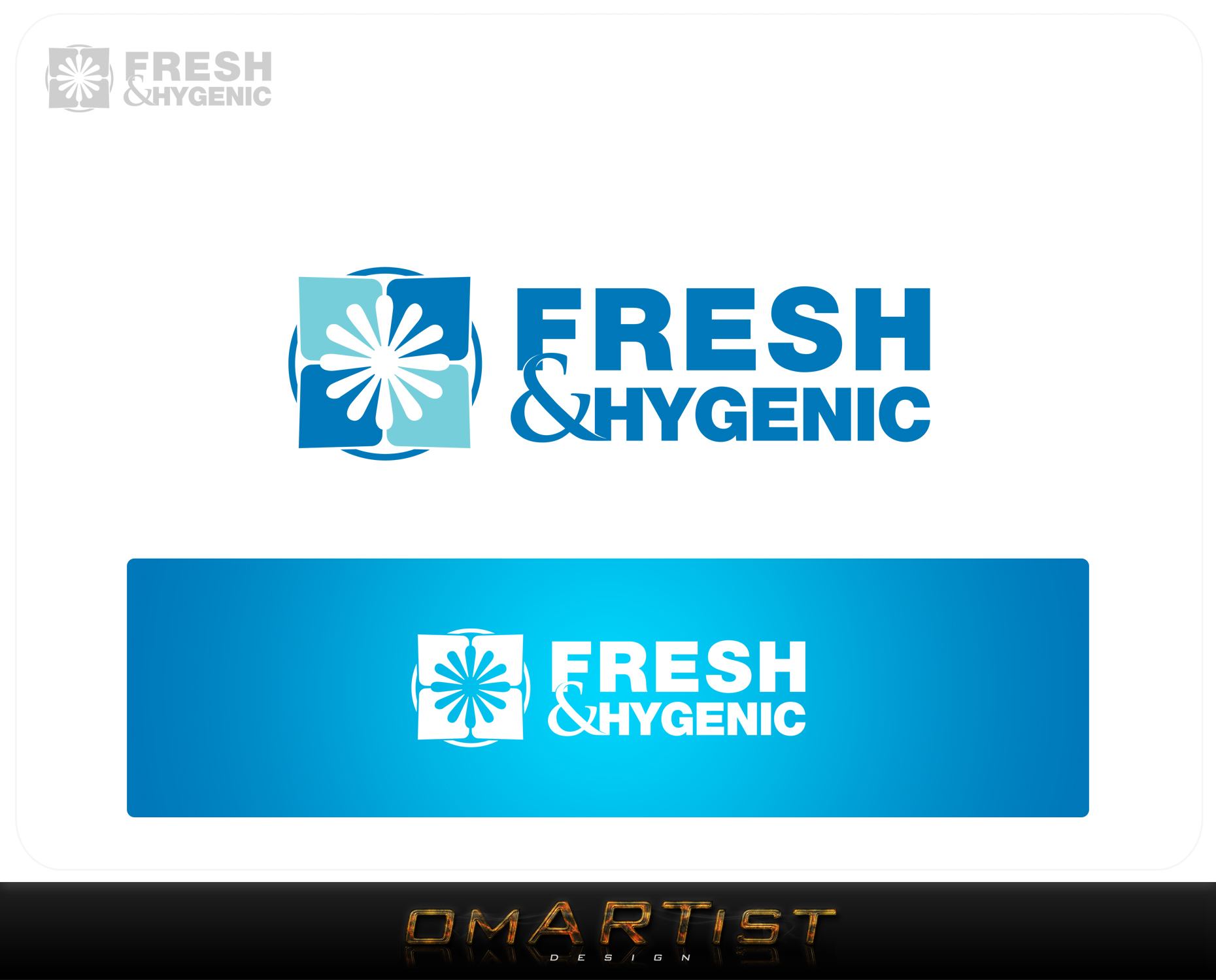 Logo Design by omARTist - Entry No. 143 in the Logo Design Contest Fun Logo Design for Fresh & Hygenic.