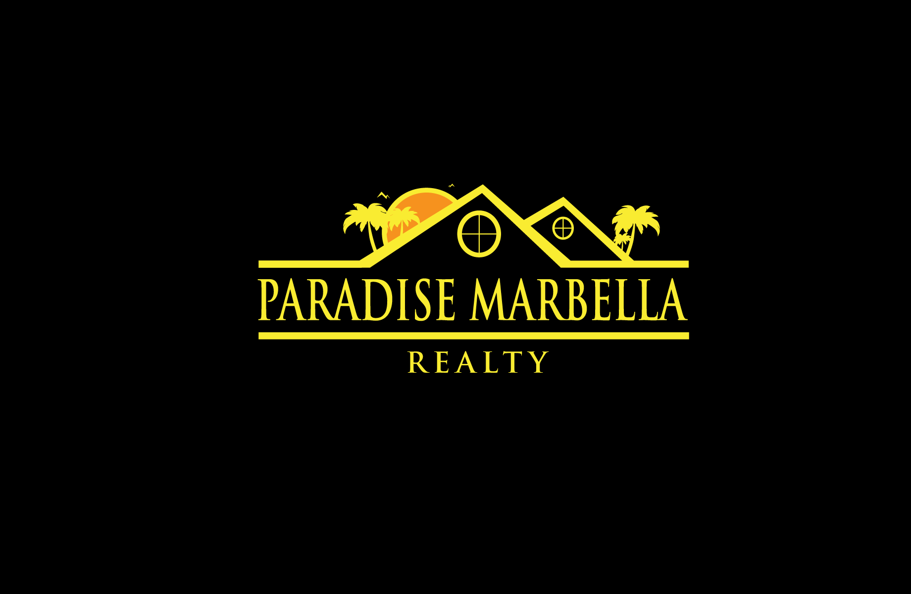Logo Design by Jan Chua - Entry No. 39 in the Logo Design Contest Captivating Logo Design for Paradise Marbella Realty.