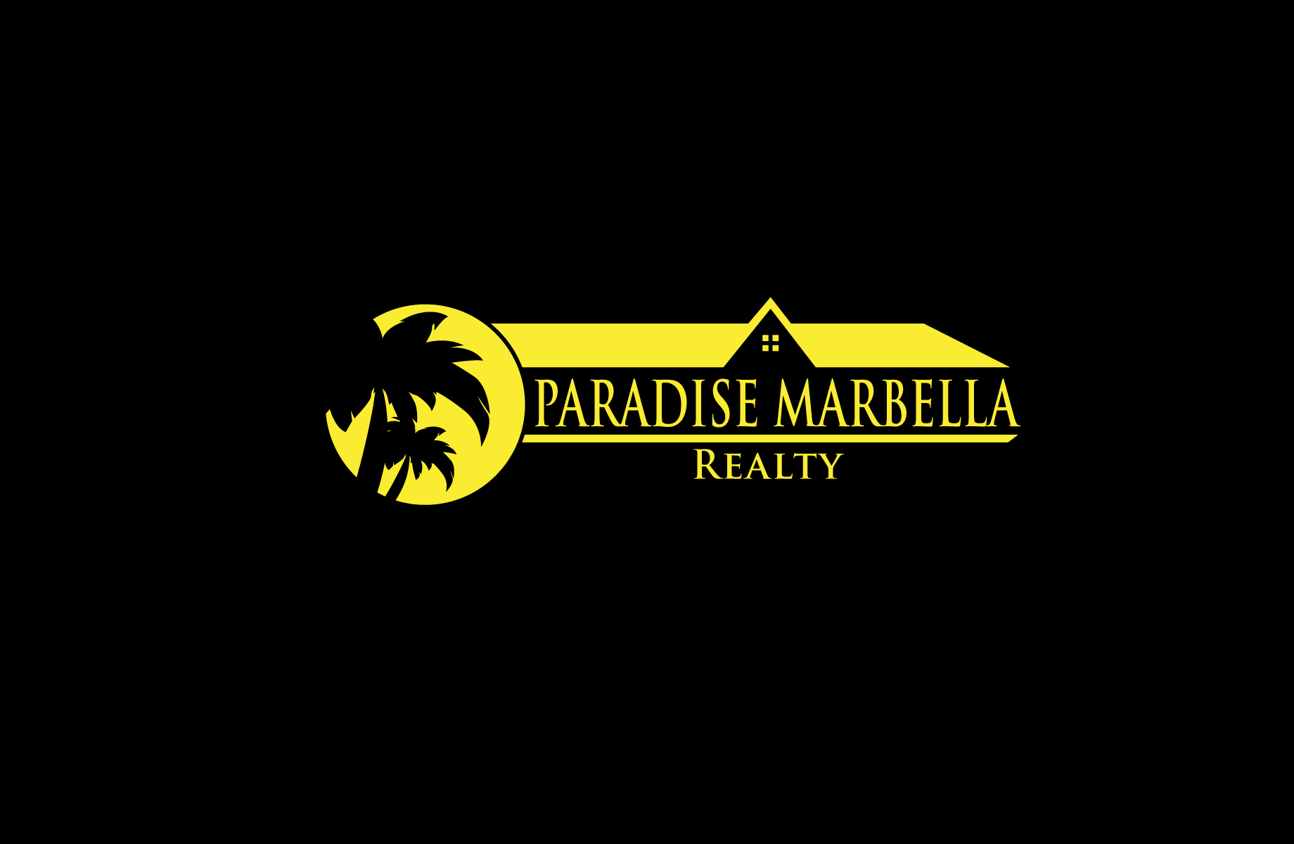 Logo Design by Jan Chua - Entry No. 40 in the Logo Design Contest Captivating Logo Design for Paradise Marbella Realty.