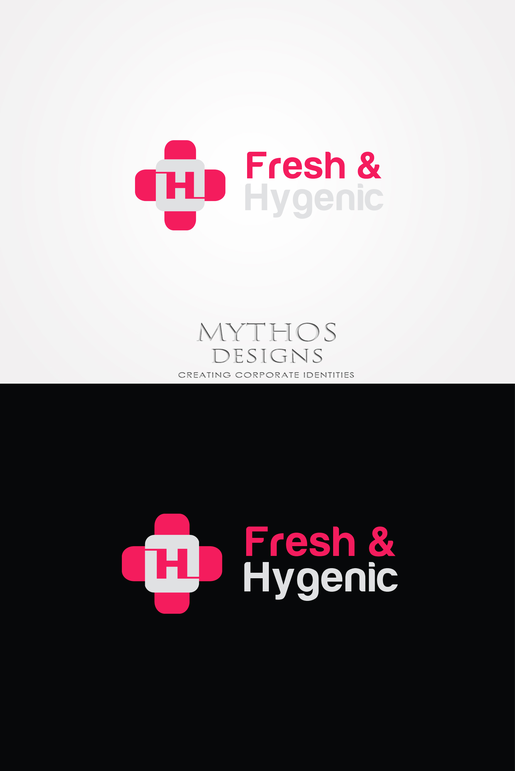 Logo Design by Mythos Designs - Entry No. 144 in the Logo Design Contest Fun Logo Design for Fresh & Hygenic.