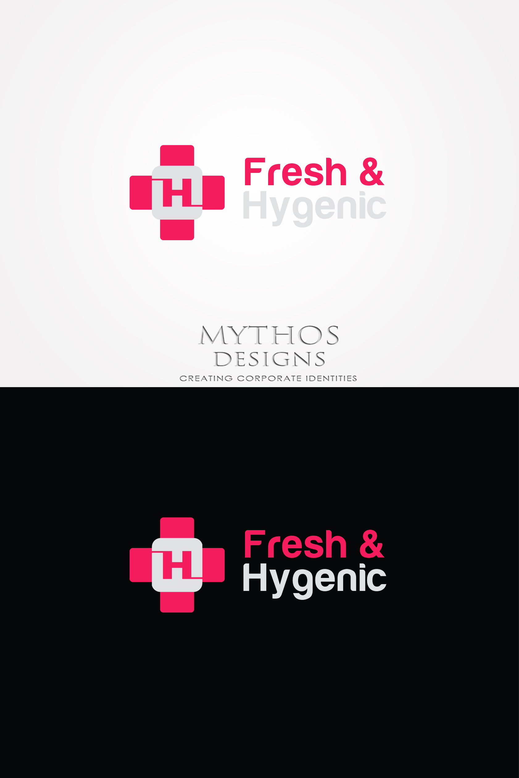 Logo Design by Mythos Designs - Entry No. 145 in the Logo Design Contest Fun Logo Design for Fresh & Hygenic.