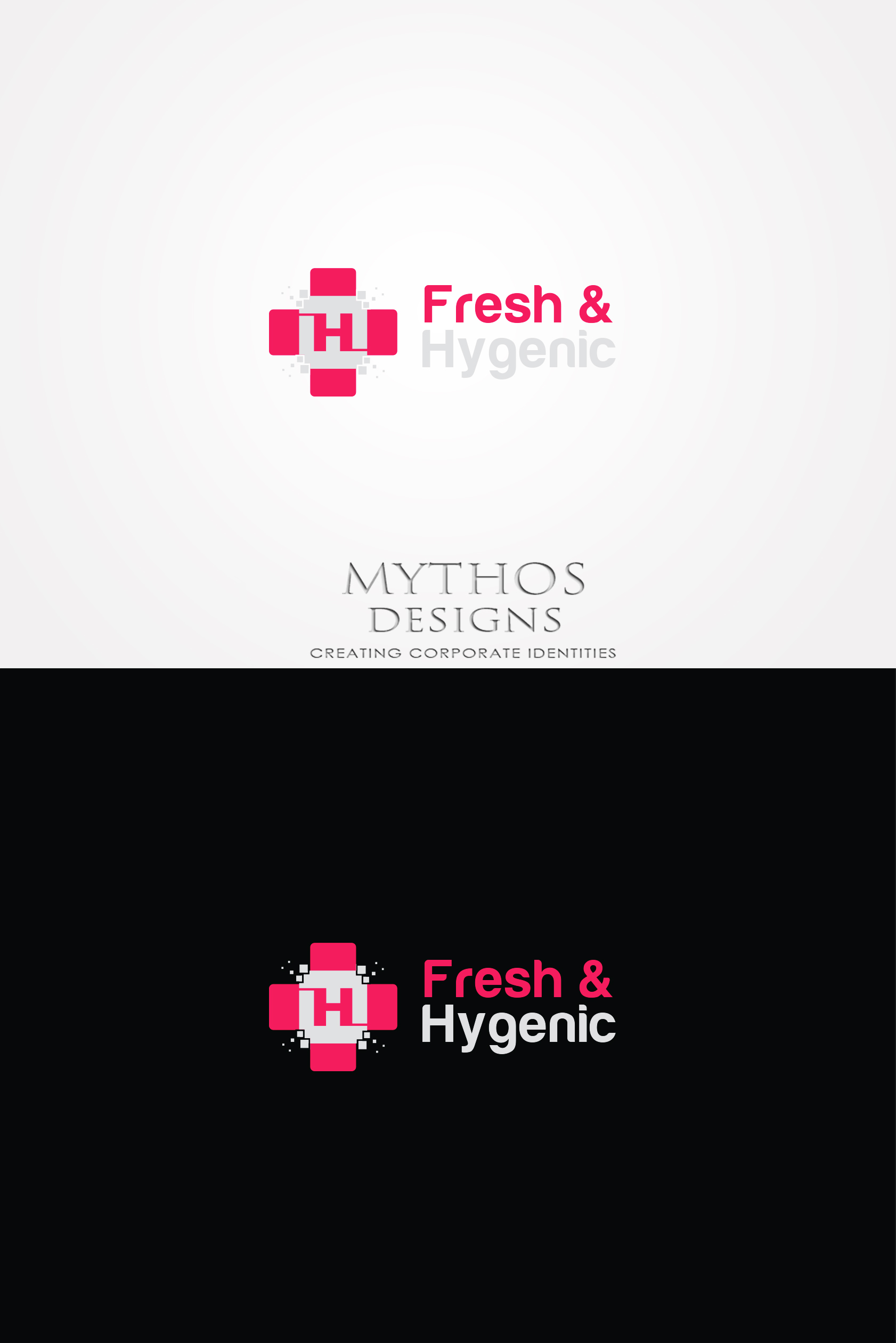 Logo Design by Mythos Designs - Entry No. 146 in the Logo Design Contest Fun Logo Design for Fresh & Hygenic.