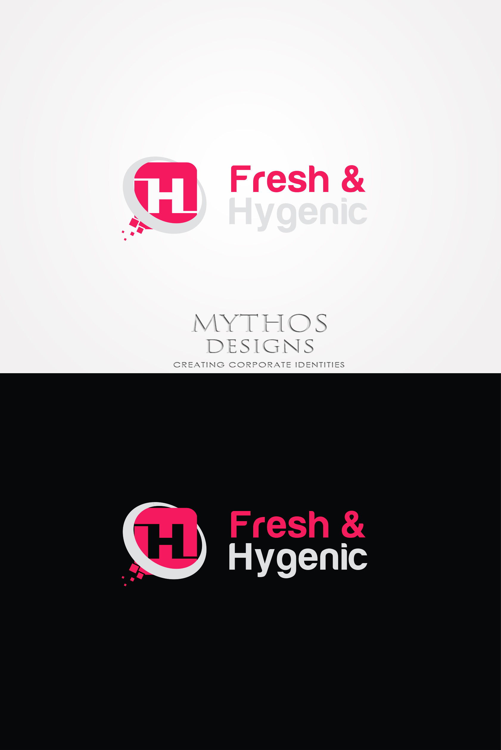 Logo Design by Mythos Designs - Entry No. 147 in the Logo Design Contest Fun Logo Design for Fresh & Hygenic.