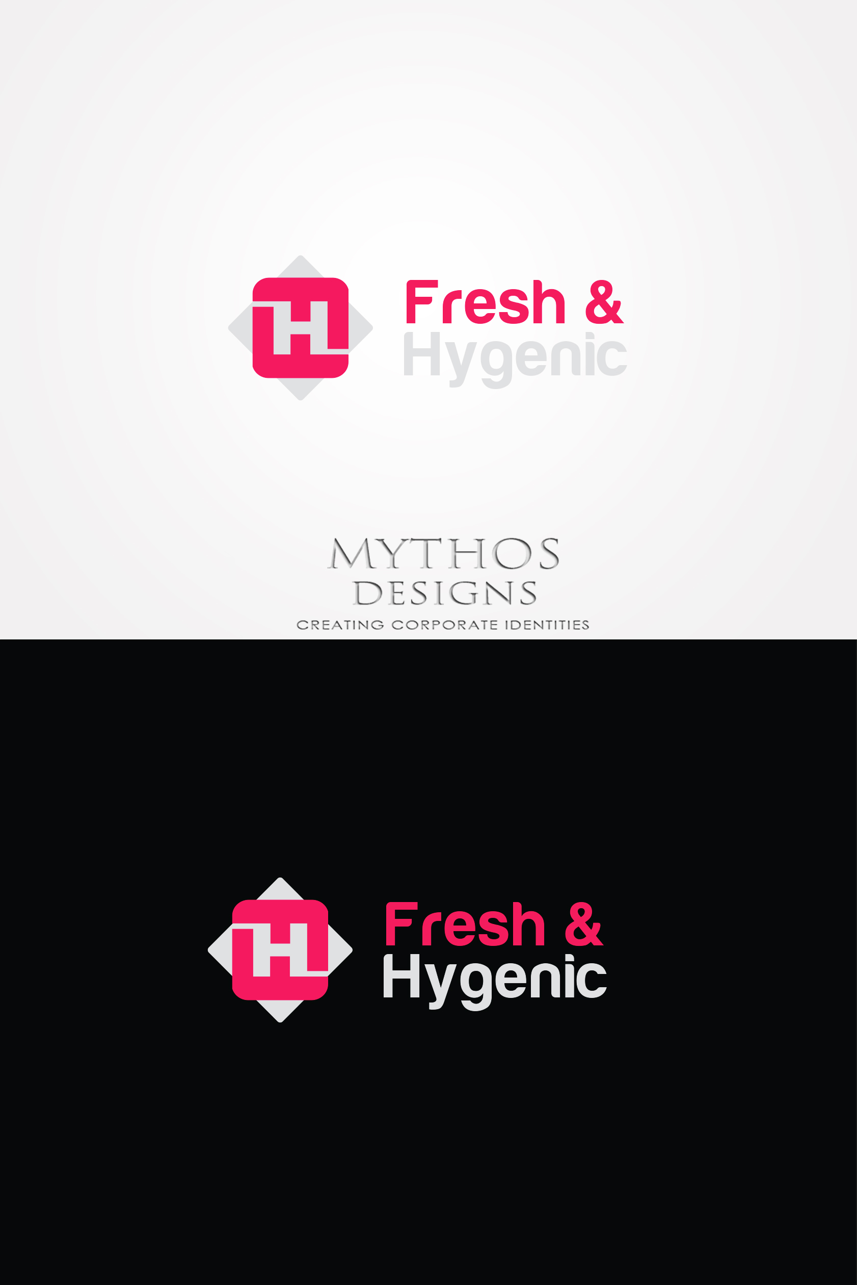 Logo Design by Mythos Designs - Entry No. 148 in the Logo Design Contest Fun Logo Design for Fresh & Hygenic.