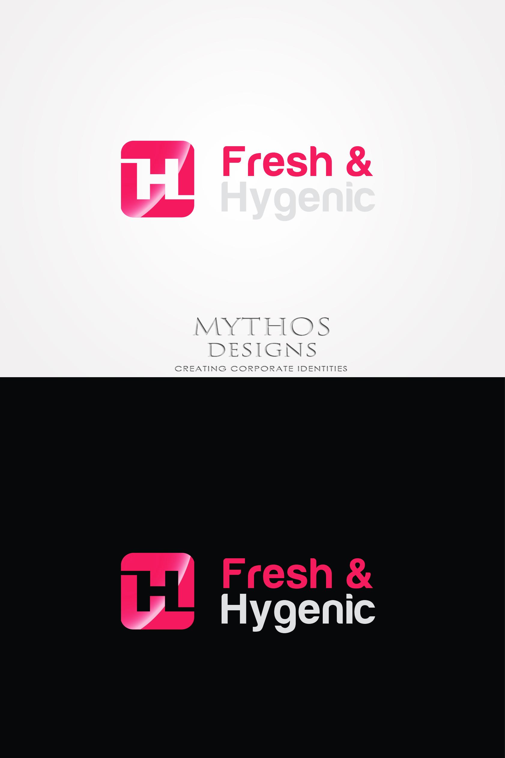 Logo Design by Mythos Designs - Entry No. 149 in the Logo Design Contest Fun Logo Design for Fresh & Hygenic.