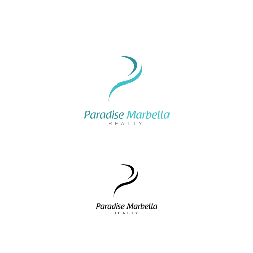 Logo Design by Private User - Entry No. 43 in the Logo Design Contest Captivating Logo Design for Paradise Marbella Realty.
