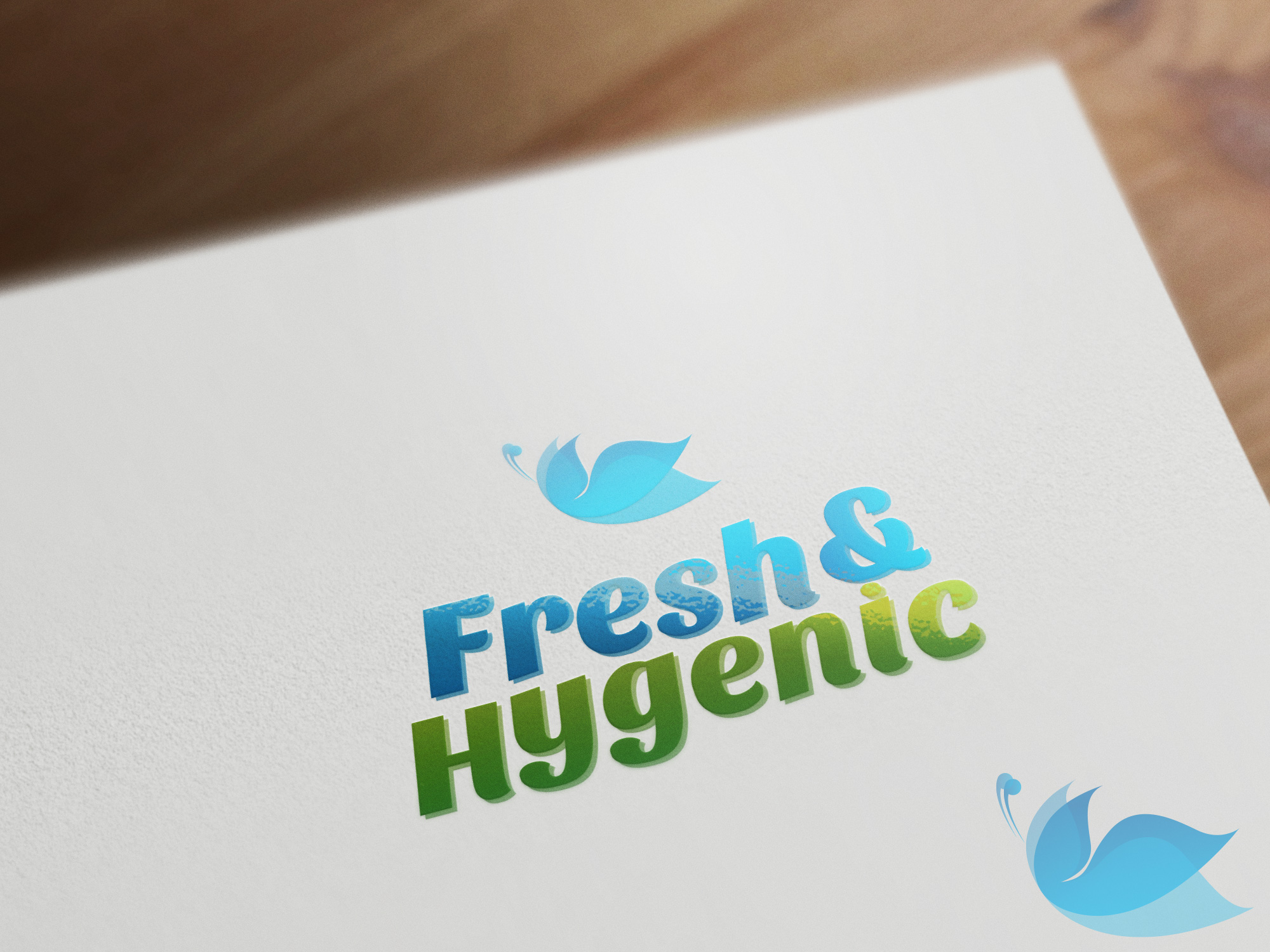Logo Design by olii - Entry No. 151 in the Logo Design Contest Fun Logo Design for Fresh & Hygenic.