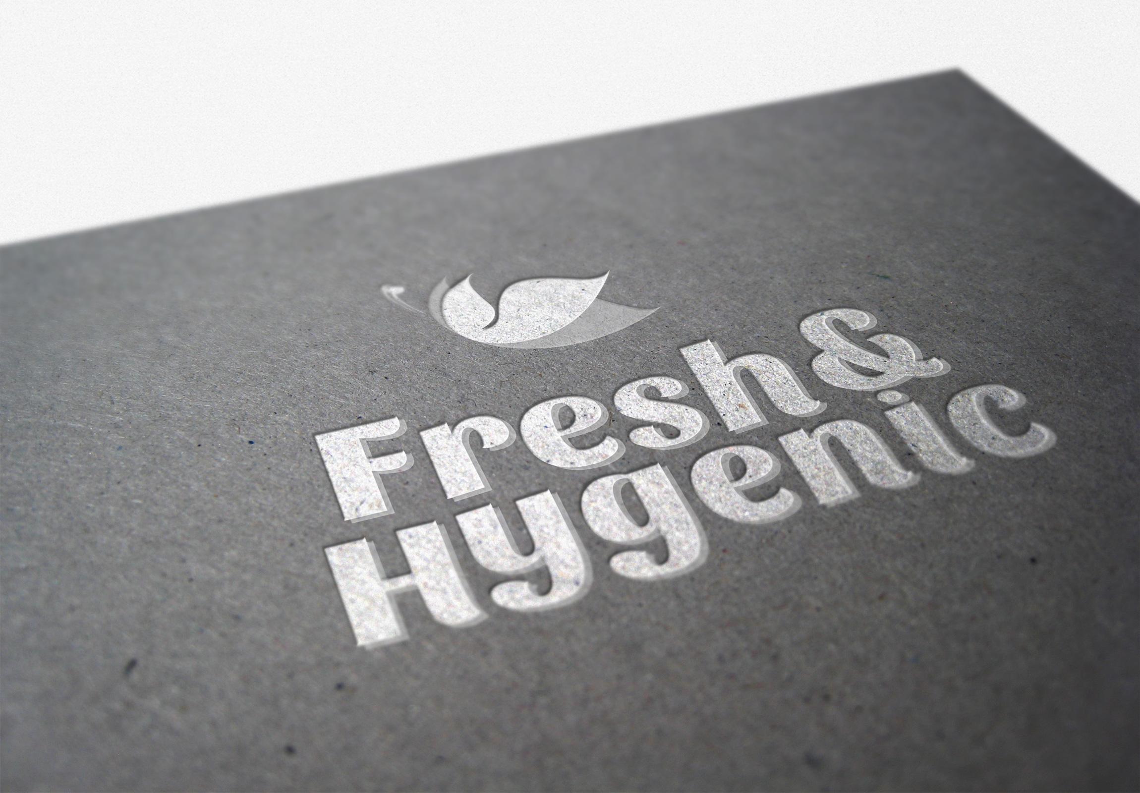 Logo Design by olii - Entry No. 152 in the Logo Design Contest Fun Logo Design for Fresh & Hygenic.