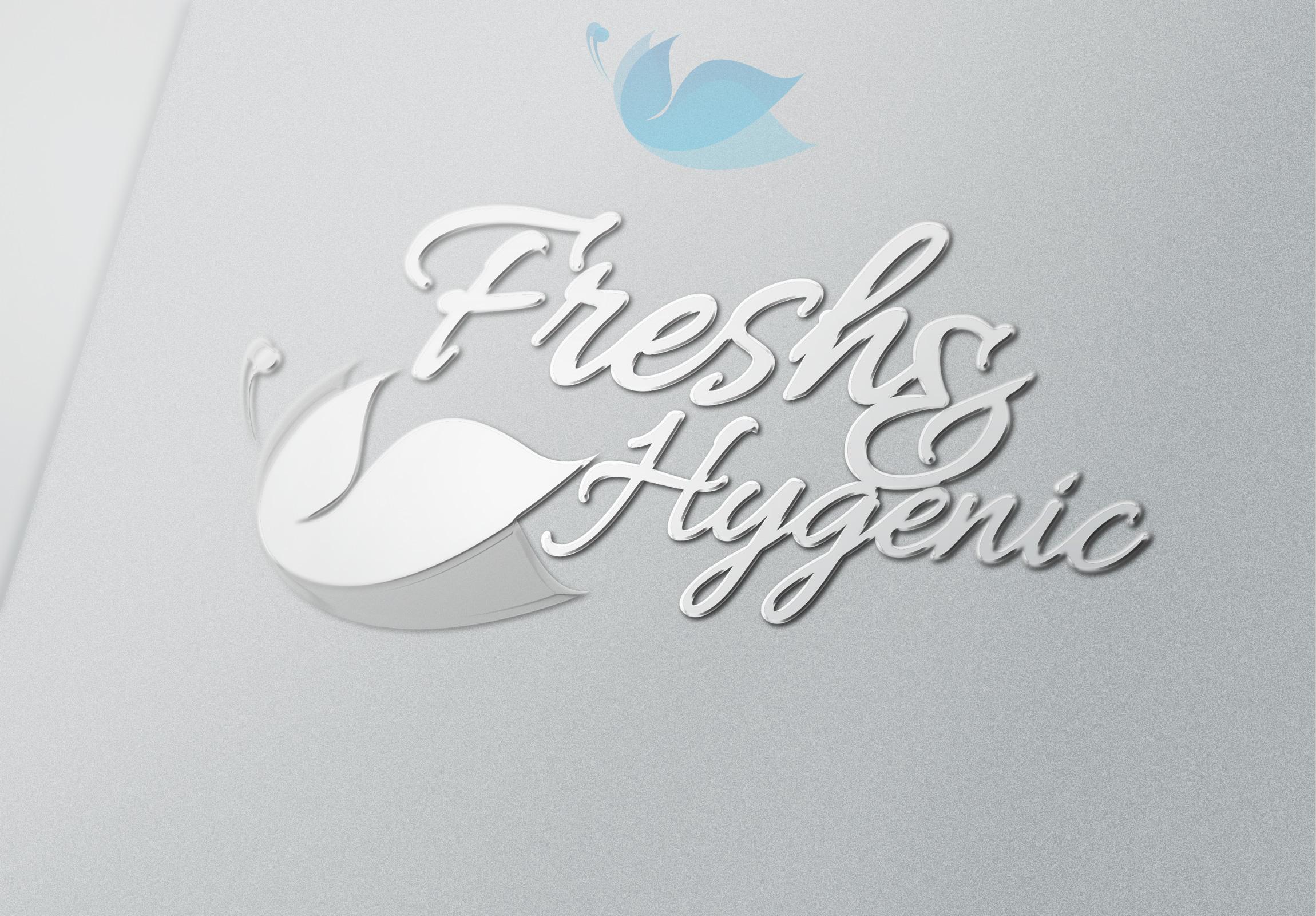 Logo Design by olii - Entry No. 155 in the Logo Design Contest Fun Logo Design for Fresh & Hygenic.