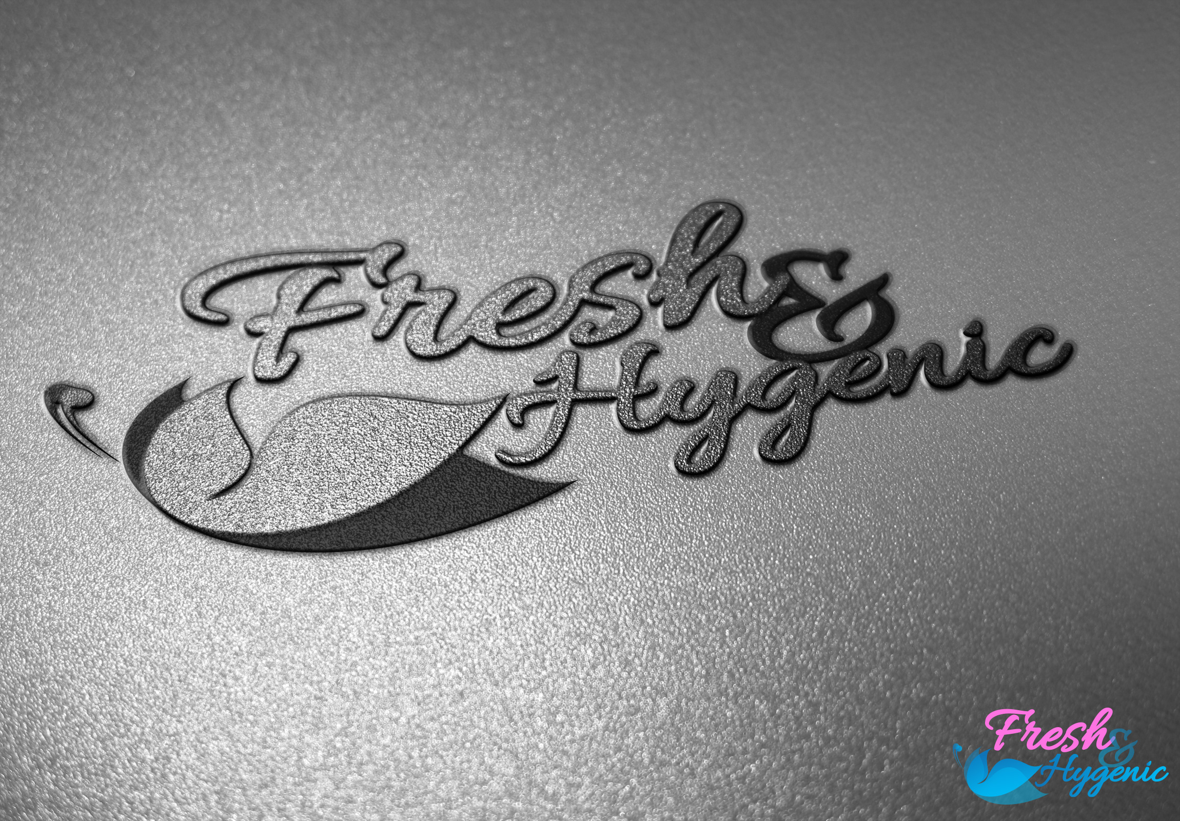 Logo Design by olii - Entry No. 156 in the Logo Design Contest Fun Logo Design for Fresh & Hygenic.
