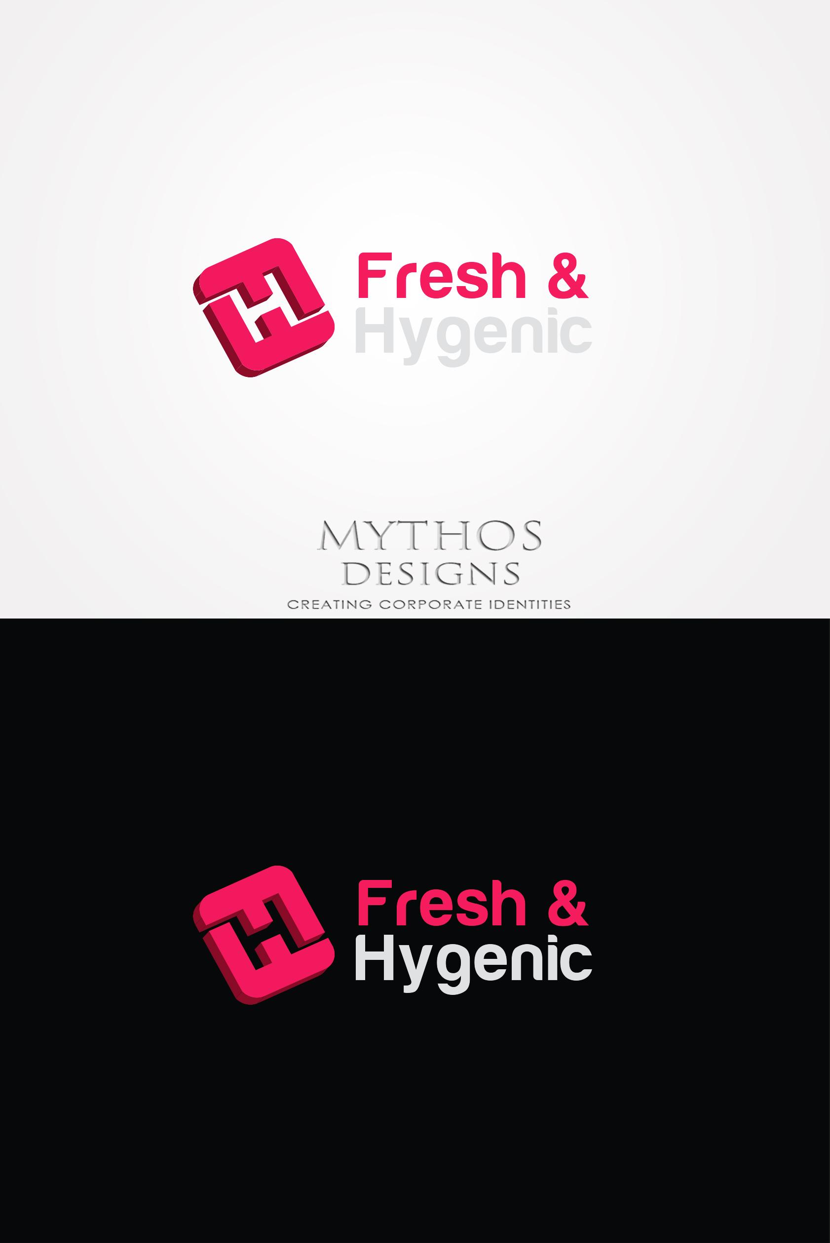 Logo Design by Mythos Designs - Entry No. 158 in the Logo Design Contest Fun Logo Design for Fresh & Hygenic.