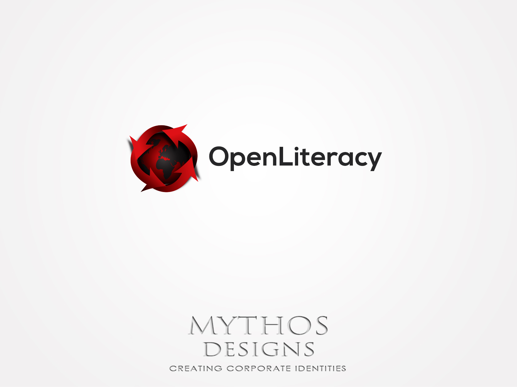 Logo Design by Mythos Designs - Entry No. 69 in the Logo Design Contest Inspiring Logo Design for OpenLiteracy.