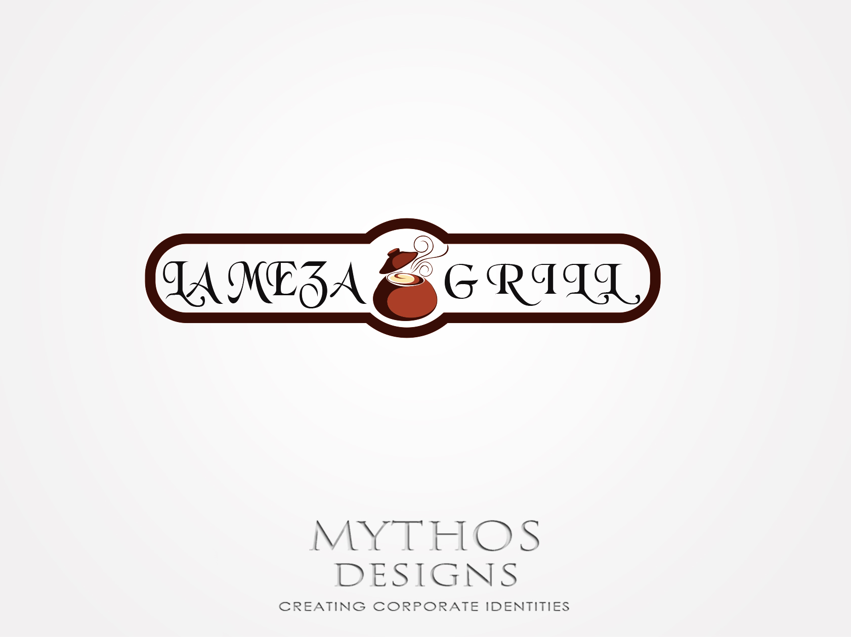 Logo Design by Mythos Designs - Entry No. 9 in the Logo Design Contest Inspiring Logo Design for La Meza Grill Ltd..