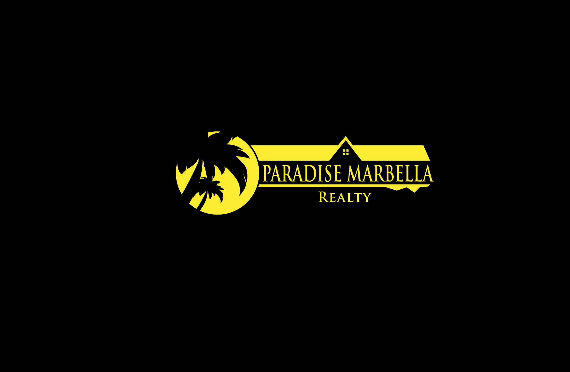 Logo Design by Jan Chua - Entry No. 50 in the Logo Design Contest Captivating Logo Design for Paradise Marbella Realty.
