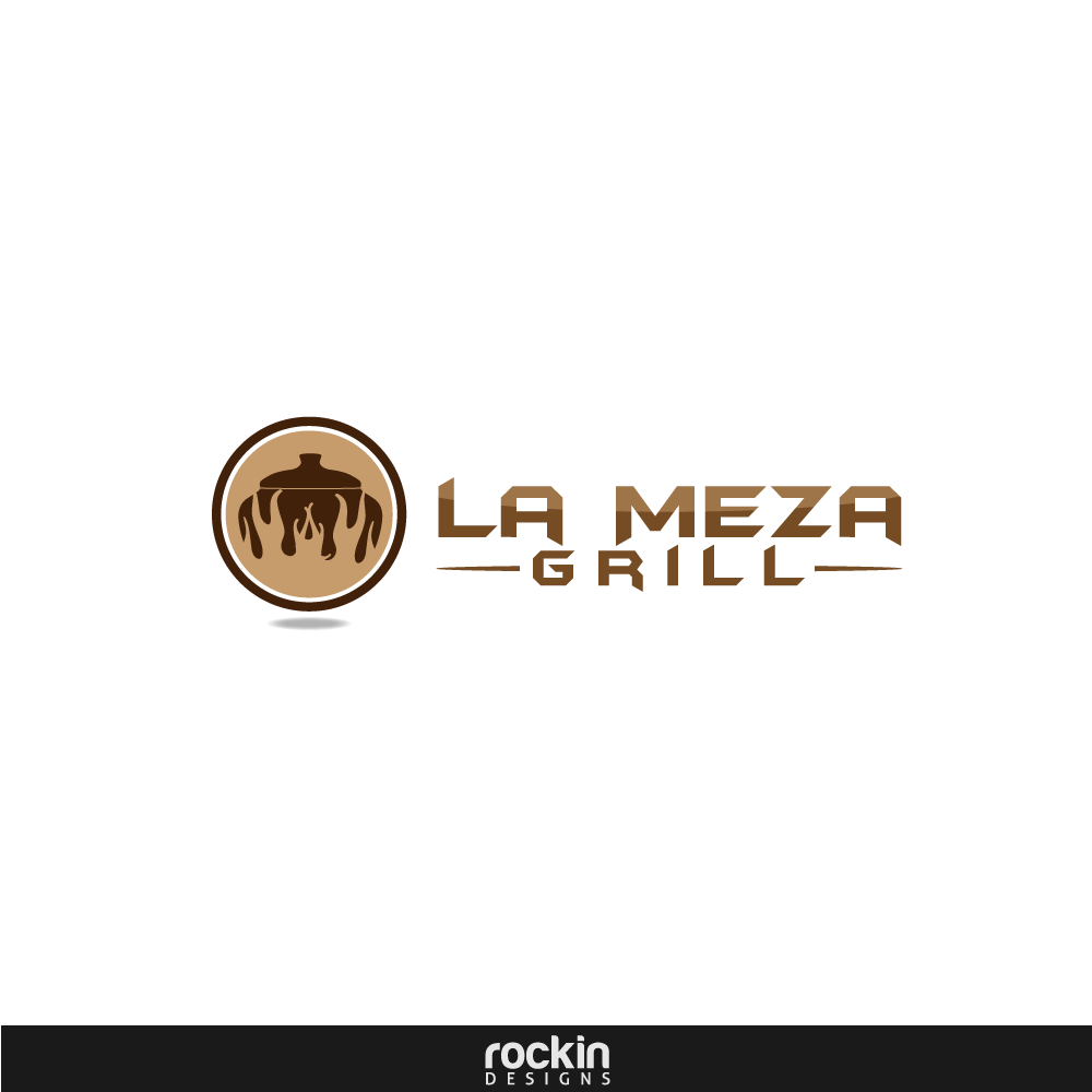 Logo Design by rockin - Entry No. 11 in the Logo Design Contest Inspiring Logo Design for La Meza Grill Ltd..